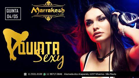 Quinta Sexy esquenta a noite com muito swing no Marrakesh Club Eventos BaresSP 570x300 imagem