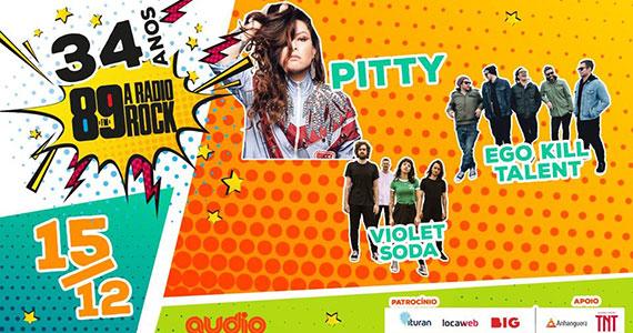 Pitty e Ego Kill Talent tocam no aniversário da 89FM Eventos BaresSP 570x300 imagem