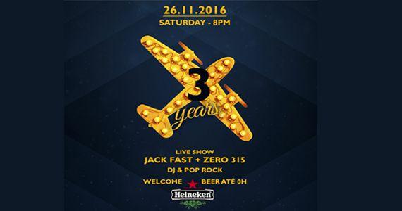 Jet Lag Pub comemora 3 anos com show das bandas Jack Fast e Zero 315 Eventos BaresSP 570x300 imagem