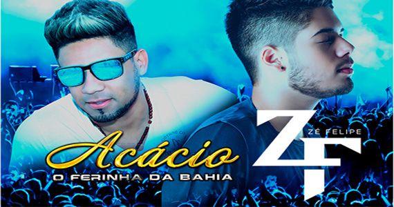 """Acácio """"O ferinha"""" e Zé Felipe cantam no Centro de Tradições Nordestinas, nesta terça-feira Eventos BaresSP 570x300 imagem"""