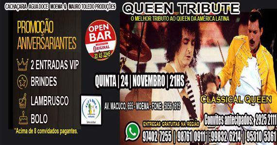 Água Doce Cachaçaria Moema recebe Queen Tribute para animar a quinta-feira Eventos BaresSP 570x300 imagem