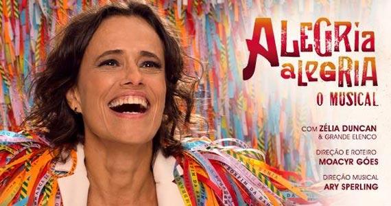 Alegria Alegria - O Musical celebra 50 anos da Tropicália com Zélia Duncan no Teatro Santander Eventos BaresSP 570x300 imagem