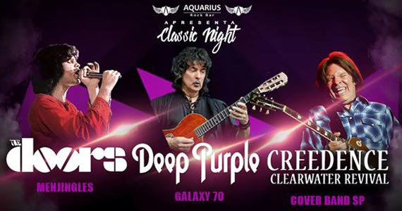 Bandas Menjingles, Galaxy 70 e Clearwater Revival animam a noite no Aquarius Rock Bar Eventos BaresSP 570x300 imagem
