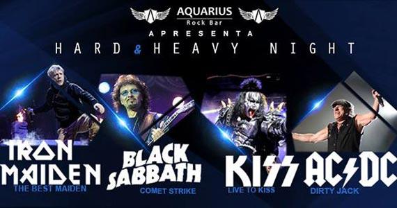 Bandas The Best Maien, Comet Strike, Live to Kiss e Dirty Jack no Aquarius Rock Bar Eventos BaresSP 570x300 imagem