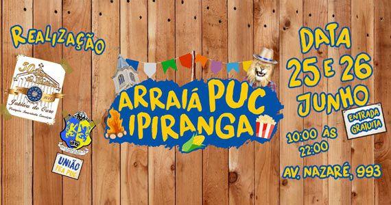 Arraiá com comidas típicas, música ao vivo e quadrilha na PUC Ipiranga Eventos BaresSP 570x300 imagem