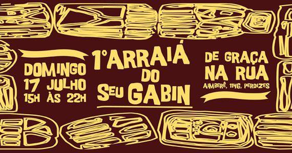 1º Arraiá da Casa do Norte do Seu Gabin com atrações especiais no domingo Eventos BaresSP 570x300 imagem