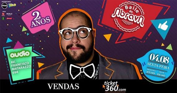 Baile do Abrava comandado por Tiago Abravanel comemora 02 anos com festa na Audio Eventos BaresSP 570x300 imagem