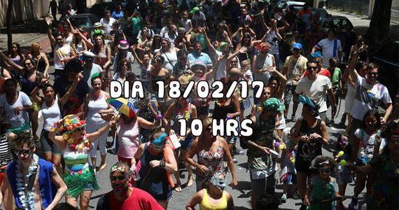 Sábado o Bloco Filhos da Foto desfila no pré carnaval do centro na Alameda Barão de Limeira Eventos BaresSP 570x300 imagem