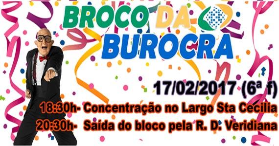 Bloco de Carnaval Broco da Burocra agita os foliões na Matias Aires Eventos BaresSP 570x300 imagem