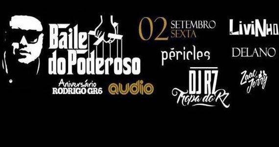 Baile do Poderoso com Péricles, Livinho, Delano e convidados no palco da Audio Eventos BaresSP 570x300 imagem