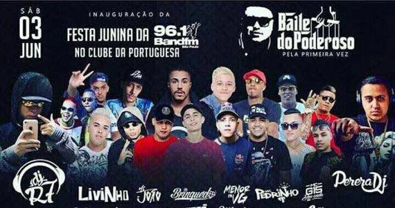 Baile do Poderoso reúne o melhor do funk na Festa Junina da Portuguesa BaresSP 570x300 imagem