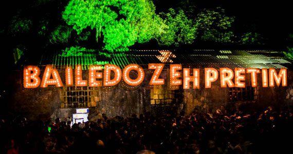 eventos - Baile do Zeh Pretim desembarca em São Paulo com festa open bar no Clube Juventus