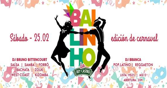 Rey Castro realiza Bailinho edição especial de Carnaval neste sábado Eventos BaresSP 570x300 imagem