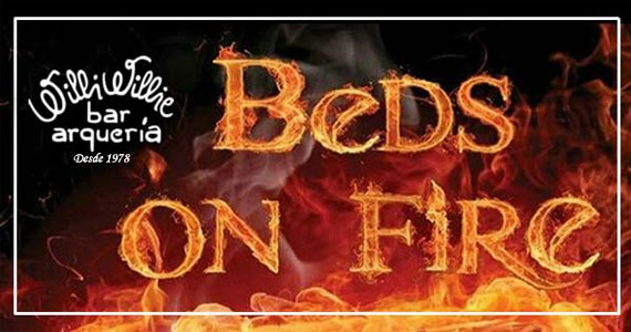 Banda cover Beds On Fire traz o melhor do pop rock para o palco do Willi Willie  Eventos BaresSP 570x300 imagem