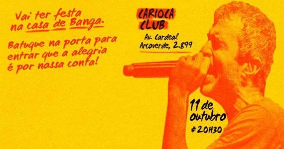 Bangalafumenga se apresenta no Carioca Club e anima a véspera de feriado Eventos BaresSP 570x300 imagem