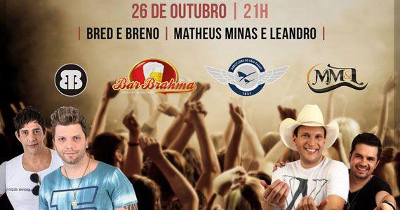 Quartaneja do Bar Brahma Aeroclube está de volta com Matheus Minas e Leandro Eventos BaresSP 570x300 imagem