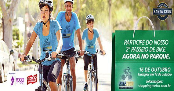 Shopping Metrô Santa Cruz realiza 2ª edição do Bike Tour com roteiro de 16km Eventos BaresSP 570x300 imagem