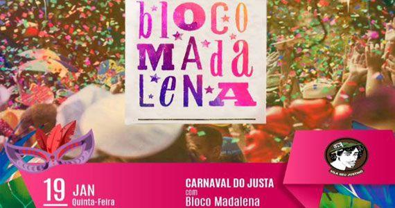 Bloco Madalena estreia na temporada de Carnaval do Vila Seu Justino Eventos BaresSP 570x300 imagem