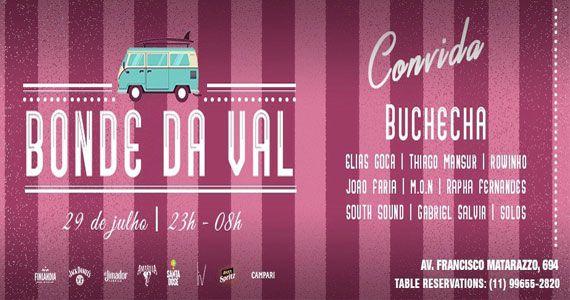 Audio Club recebe Bonde da Val com o cantor Buchecha e DJs convidados Eventos BaresSP 570x300 imagem