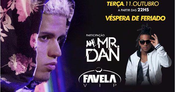 Véspera de feriado com Gaab, Mr. Dan e Favela Vip no Boteco Vila Rica Eventos BaresSP 570x300 imagem
