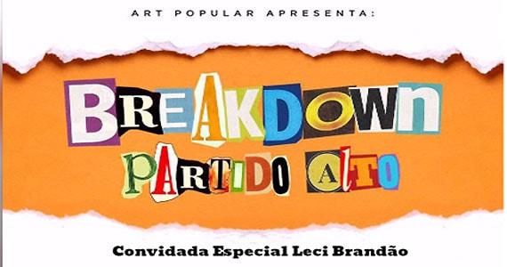 Art Popular faz lançamento oficial do novo CD Breakdown Partido Alto no Teatro Eva Wilma Eventos BaresSP 570x300 imagem