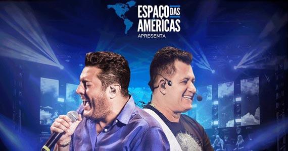 Dupla Bruno e Marrone apresentam clássicos do sertanejo no palco do Espaço das Américas Eventos BaresSP 570x300 imagem