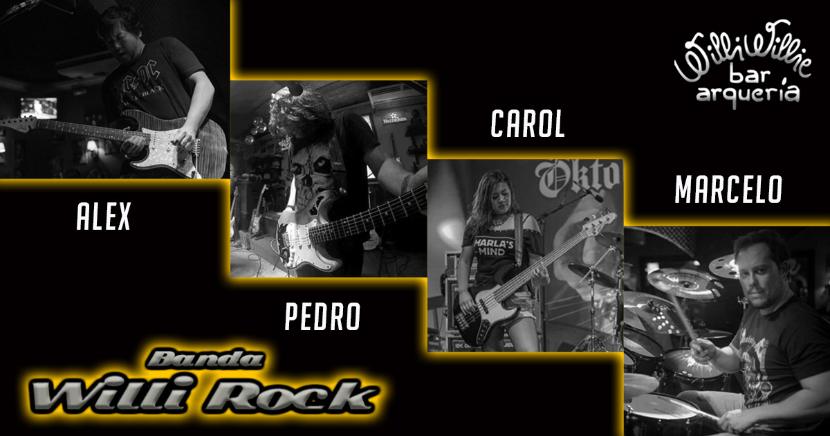Programação - Banda Willi Rock (Classic Rock)