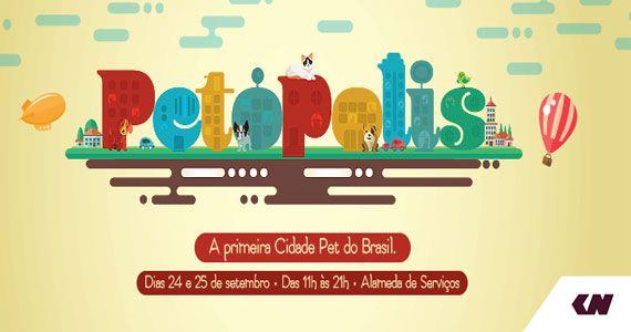 Shopping Center Norte apresenta primeira cidade pet do Brasil, a Petópolis Eventos BaresSP 570x300 imagem