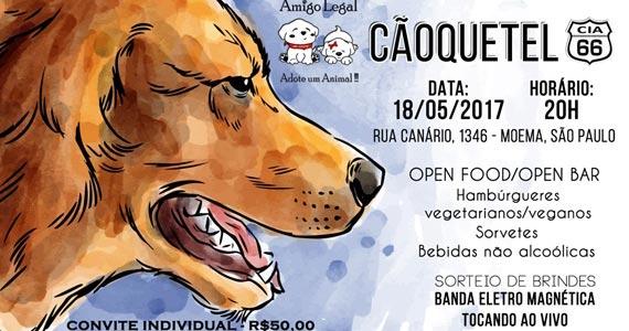 Cia 66 realiza evento Beneficente Cãoquetel em parceria com Projeto Amigo Legal BaresSP