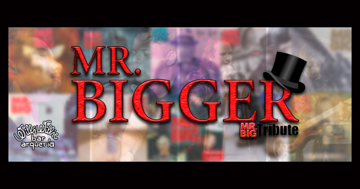 Programação - Banda Mr Bigger (Tributo a Mr. Big)