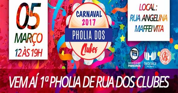 Clubes Pinheiros, Hebraica e Athletico Paulistano promovem o 1º Pholia de Rua dos dos Clubes Eventos BaresSP 570x300 imagem