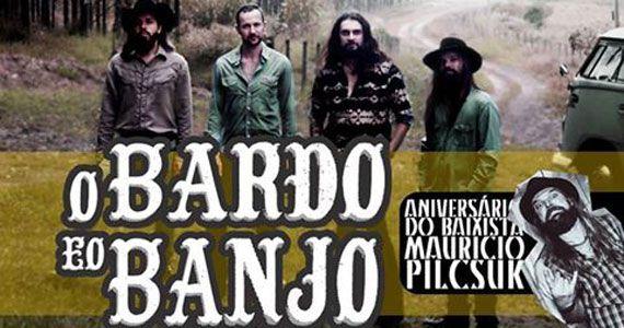 Casa Amarela Pub recebe O Bardo e o Banjo com pop rock na sexta-feira Eventos BaresSP 570x300 imagem
