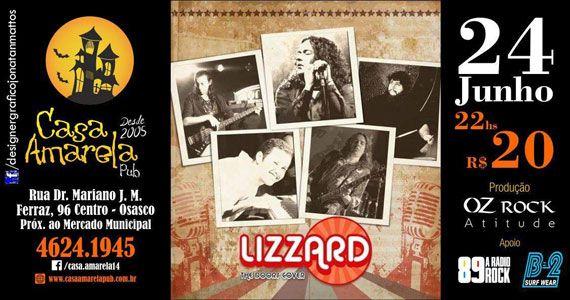 Casa Amarela Pub recebe banda Lizzard com o melhor do pop rock Eventos BaresSP 570x300 imagem