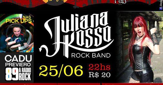 Juliana Posso Rock Band anima o sábado com clássicos do rock no Casa Amarela Pub Eventos BaresSP 570x300 imagem