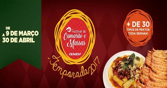 feira-gastronomicas Ceagesp lança Festival de Camarões e Massas por R$ 59,90 BaresSP