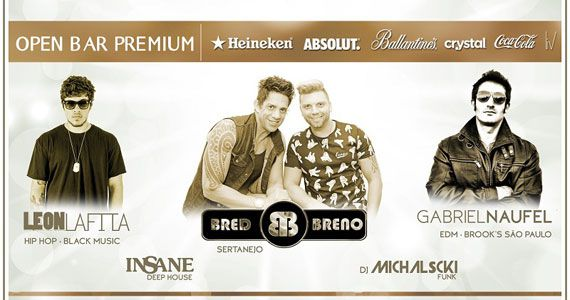 Reveillon Celebrate com Bred e Breno e DJs no Yellow Village Eventos BaresSP 570x300 imagem