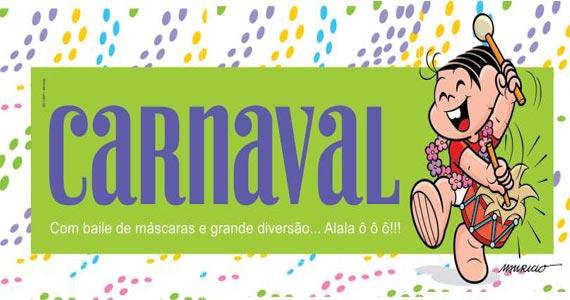 Chácara Turma da Mônica entra em clima de Carnaval com espaço temático e baile para as crianças Eventos BaresSP 570x300 imagem