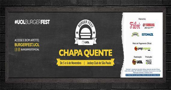 Feirinha Gastronômica SP Burger Fest - Chapa Quente Eventos BaresSP 570x300 imagem