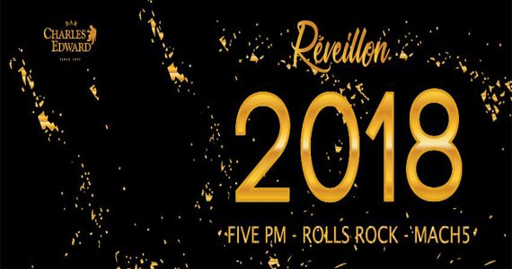 Festa de Réveillon com as bandas Rolls Rock, Five PM e Mach 5 no Bar Charles Edward Eventos BaresSP 570x300 imagem