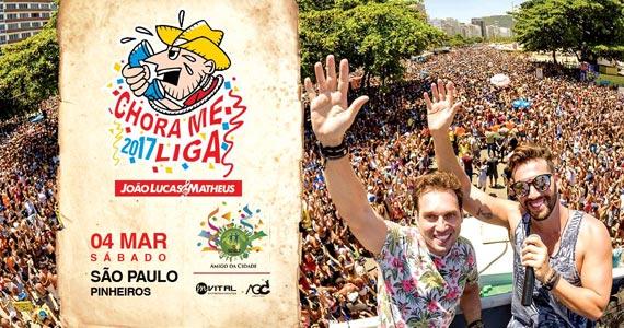 Sábado é dia de celebrar o batuque pós carnaval do Bloco Chora Me Liga na Rua Funchal Eventos BaresSP 570x300 imagem