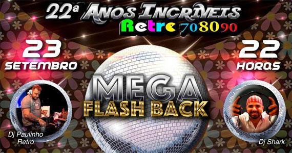 Festa de 22ª Retrô anos incríveis mega flash back no Clube Atlético Juventus  Eventos BaresSP 570x300 imagem