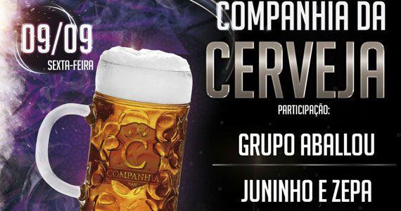 Grupo Aballou e Juninho e Zepa animam a sexta-feira do Companhia da Cerveja Eventos BaresSP 570x300 imagem