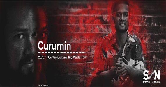 Músico Curumin faz homenagem a Stevie Wonder no Projeto Son Estrella Galicia no Centro Cultural Rio Verde Eventos BaresSP 570x300 imagem