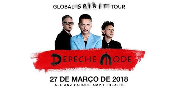 Banda americana Depeche Mode confirma único show no Brasil em 2018 no Allianz Parque