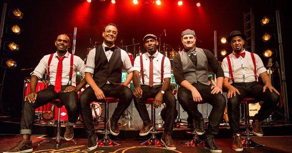 Grupo Dose Certa anima a noite com muito samba no Traço de União Eventos BaresSP 570x300 imagem