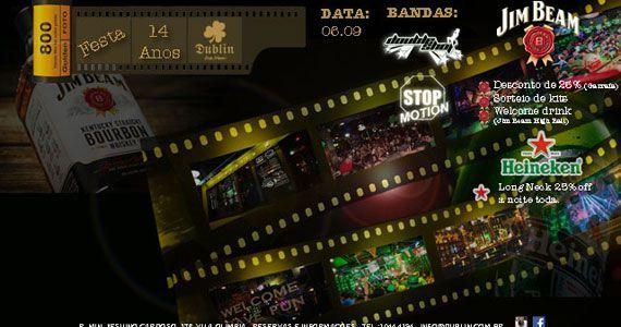 Bandas Double Shot e Stop Motion comandam o Aniversário de 14 anos do Dublin Eventos BaresSP 570x300 imagem
