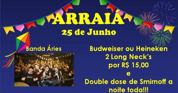 Banda Áries se apresenta na Festa Brega do Duboiê Bar com pop rock no sábado Eventos BaresSP 570x300 imagem