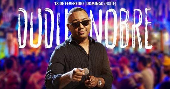 Dudu Nobre se apresenta neste domingo com muito samba no Templo Bar de Fé Eventos BaresSP 570x300 imagem
