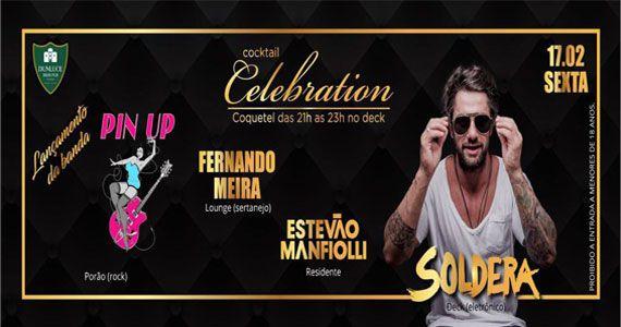 Festa dos Aniversariantes do mês com Soldera e Fernando Meira no Dunluce Eventos BaresSP 570x300 imagem