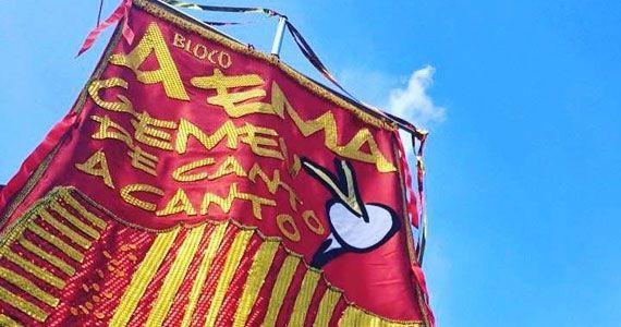 Bloco A Ema Gemeu de Canto a Canto faz pré carnaval pelo bairro de Pinheiros Eventos BaresSP 570x300 imagem